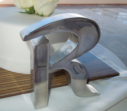 Stainless Letter R