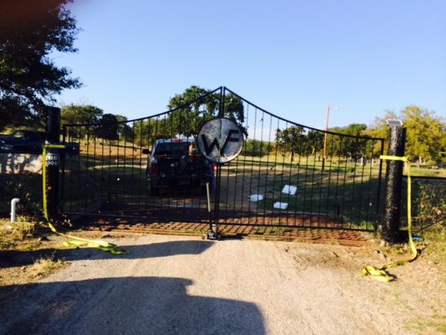 CUSTOM FRONT GATE