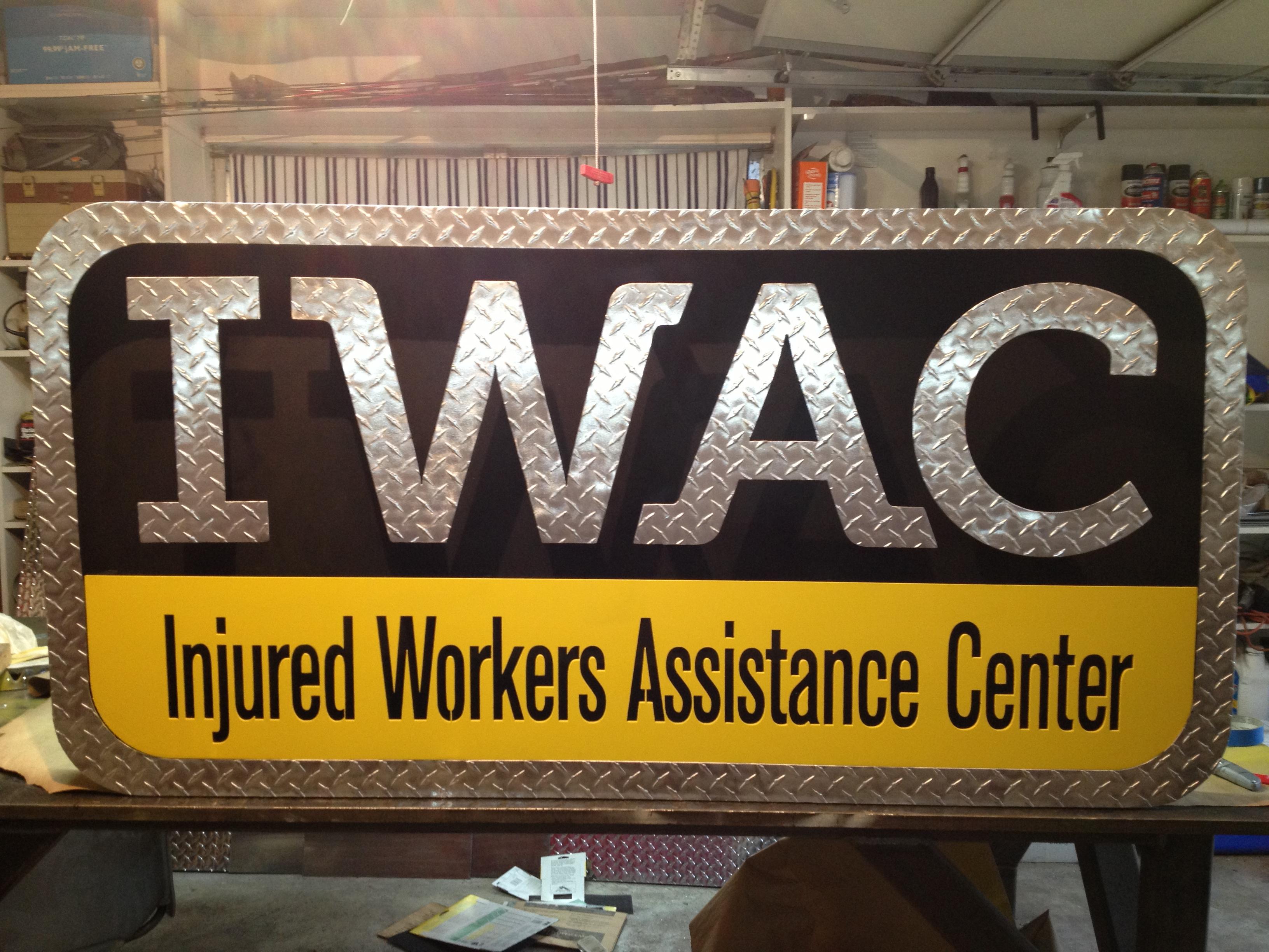 IWAC Wall Sign