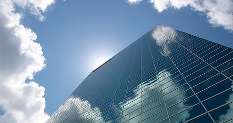Wolkenkratzer Horizontal