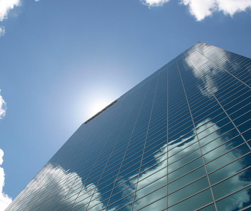gratte-ciel horizontal