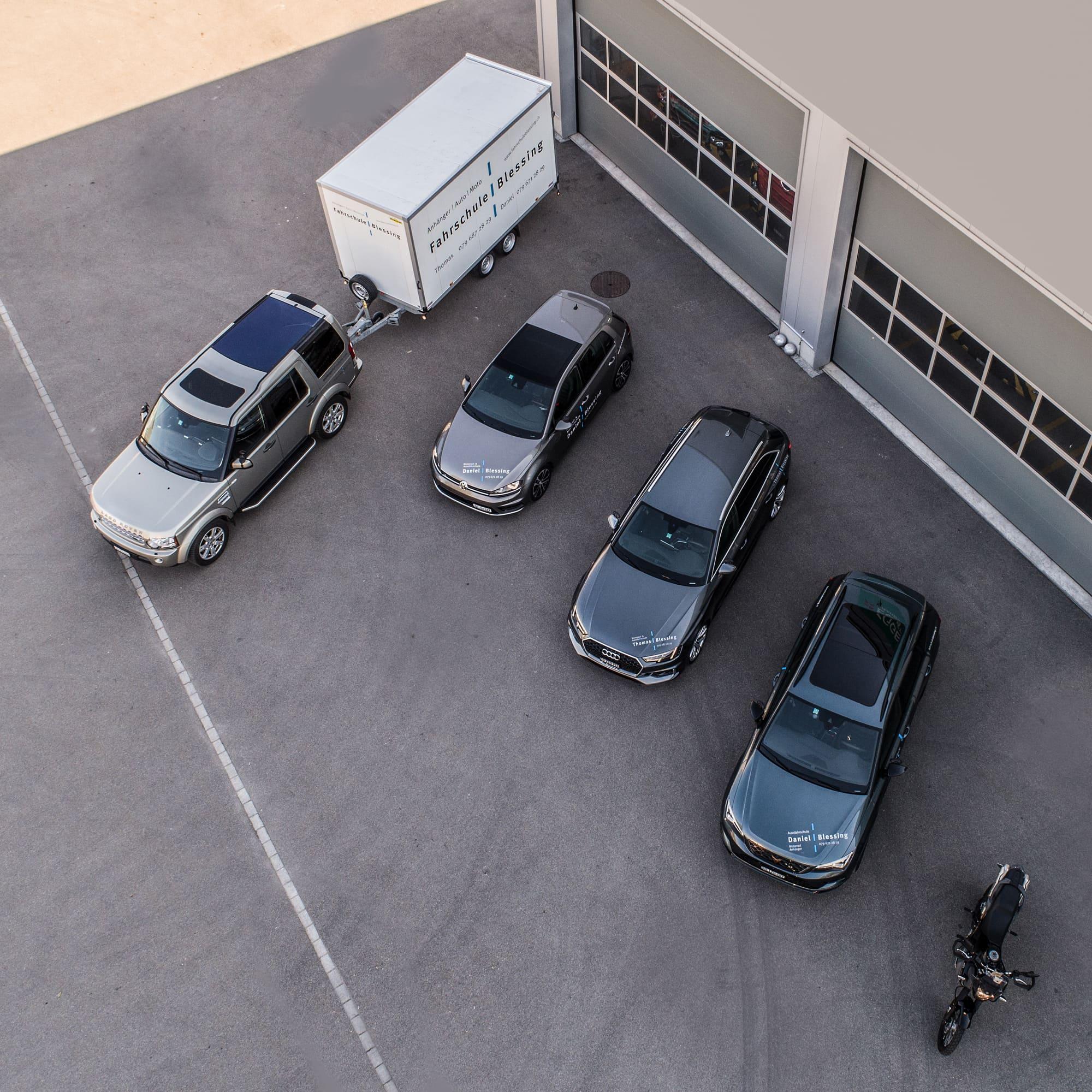 Fahrzeuge der Fahrschule Blessing