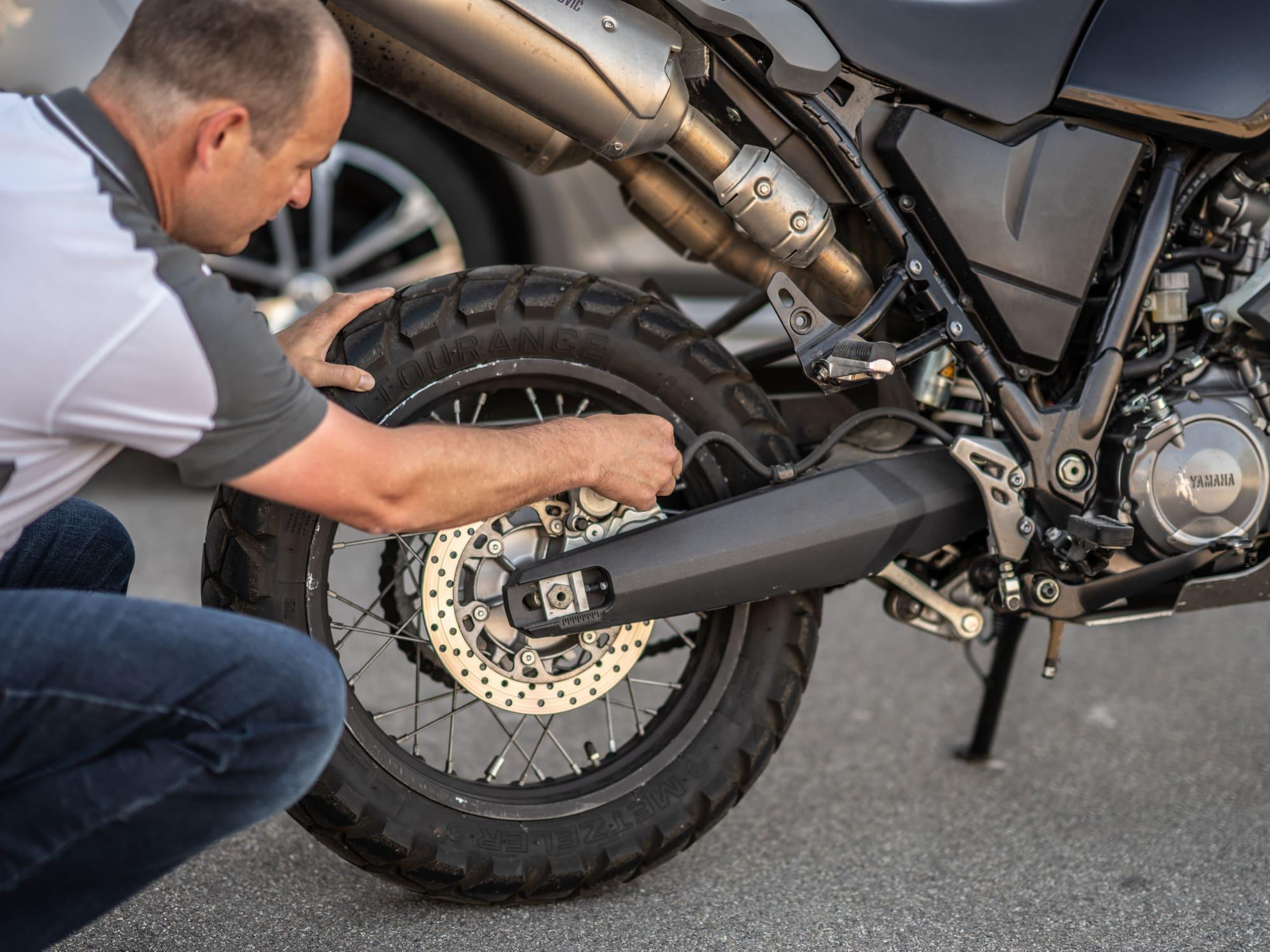 Prüfung Motorradzustand