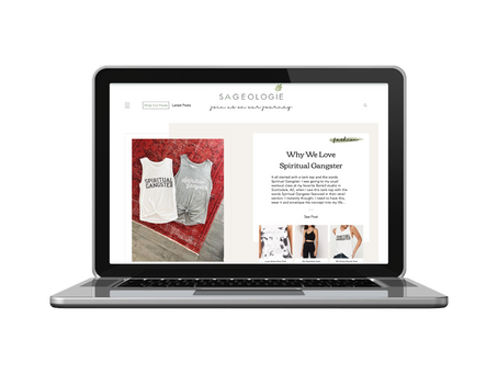 Wix Website Spotlight: Sageologie