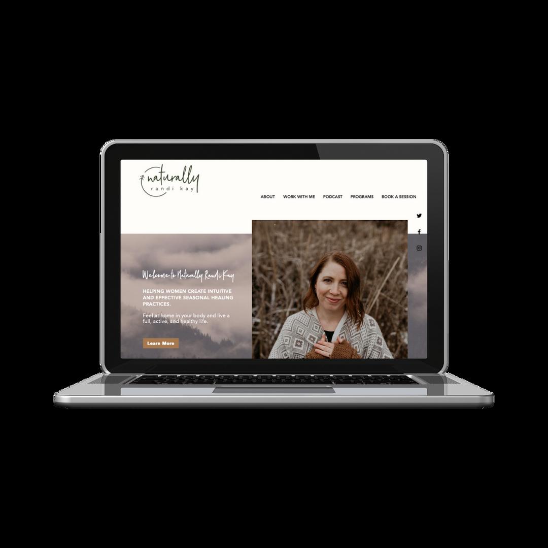 Massage Therapist Website - Wix Website