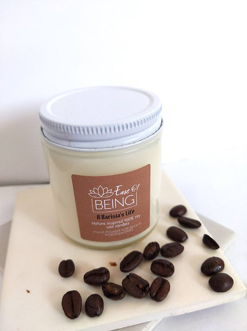 A Barista's Life soy wax candle