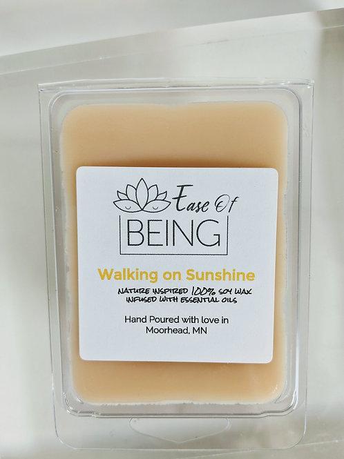 Walking On Sunshine soy wax melt