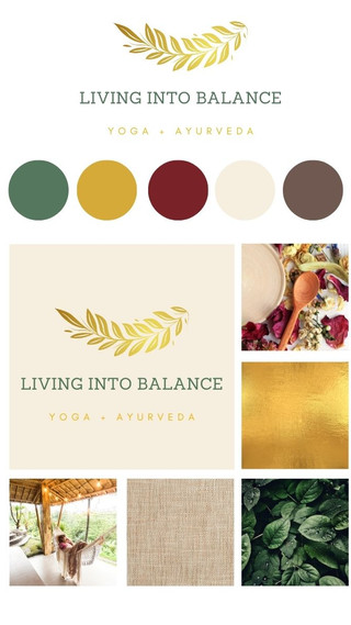 Living Into Balance Branding