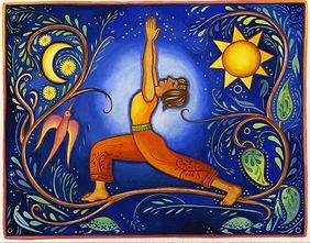 Yoga Shannon McCall Living Into Balance.