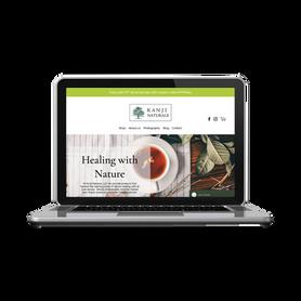Tea Company - Wix Website Design - Learn