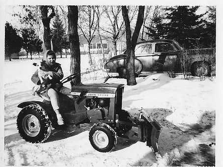 Remade to Remember Dad's love of John Deere