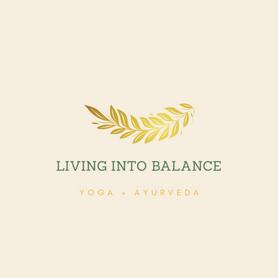 Living Into Balance