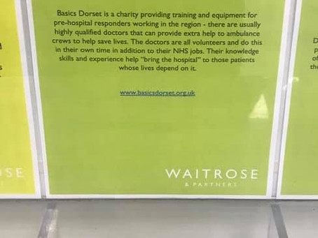 """Charity nominated for Waitrose """"Community Matters"""" donation"""
