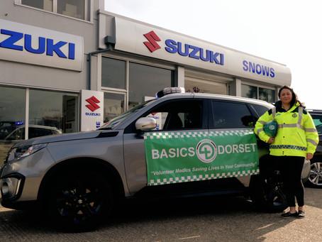 New wheels for Dorset BASICS Responder