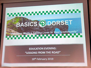 BASICS Dorset Hosts Pre-Hospital Education Evening