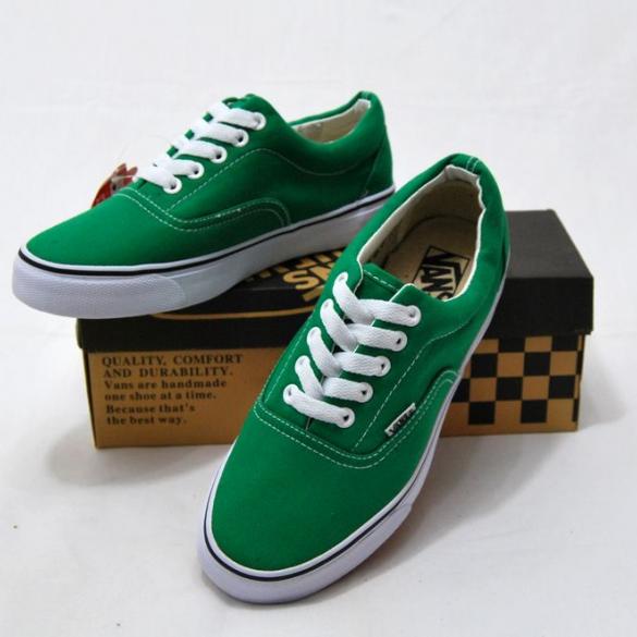 vans verdes