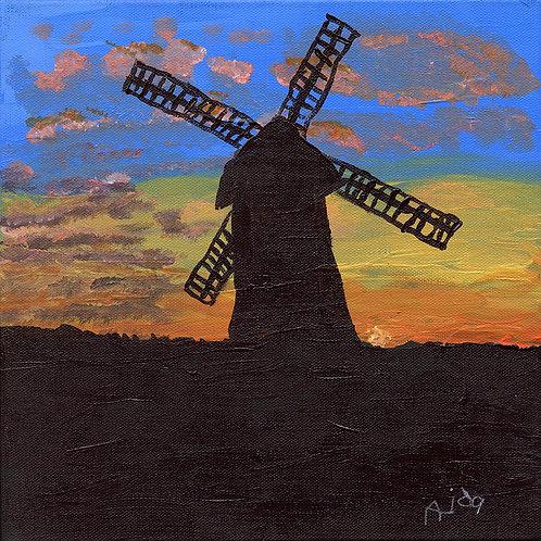 Sunset at Rottingdean Windmill