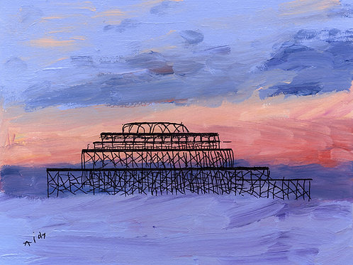 Purple West Pier