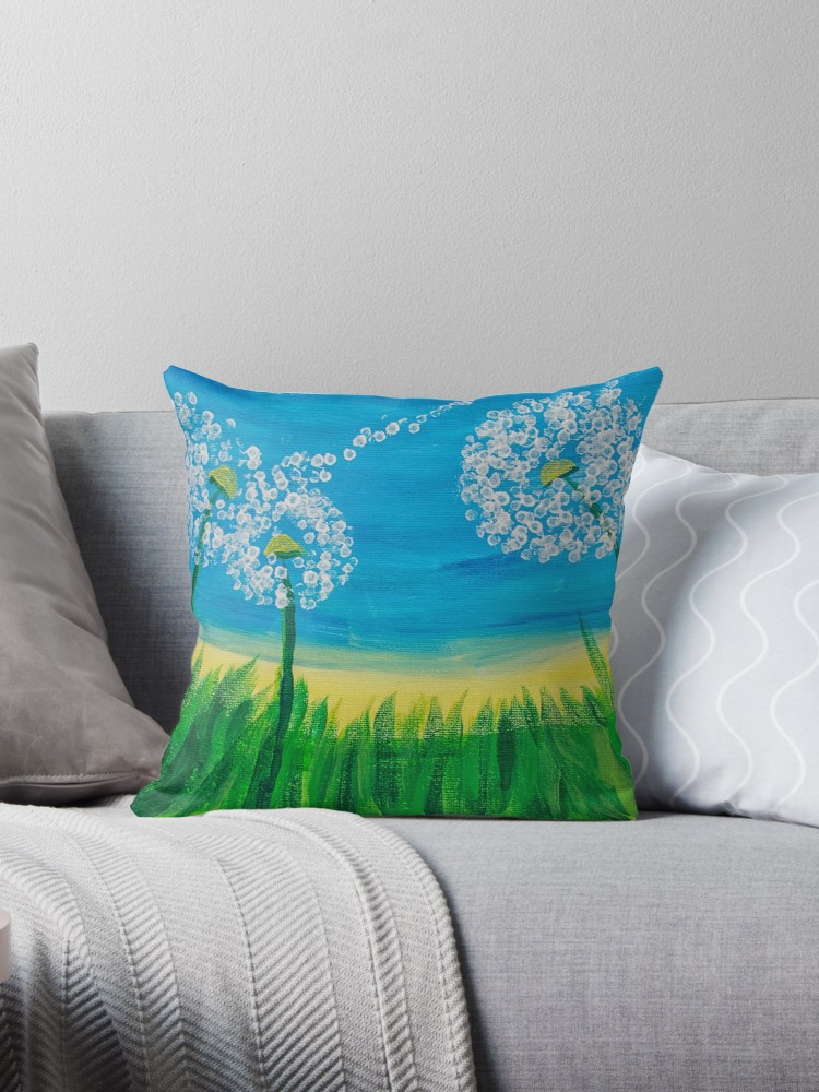 Dandelions Cushion