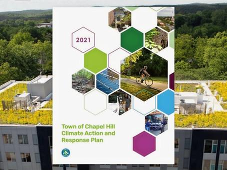 Chapel Hill Town Council Passes Climate Action & Response Plan, Declares Climate Emergency