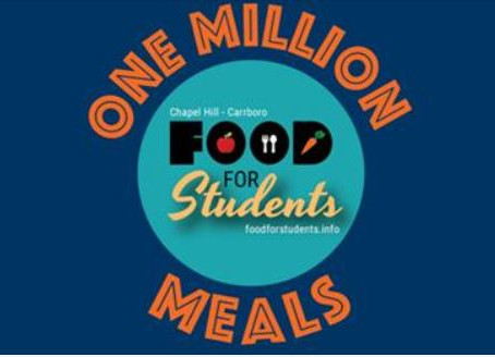 Food for Students: One Million Meals!