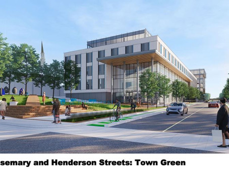 How a Familiar Structure and New Parking Deck Aim to Usher In a New Era For Chapel Hill