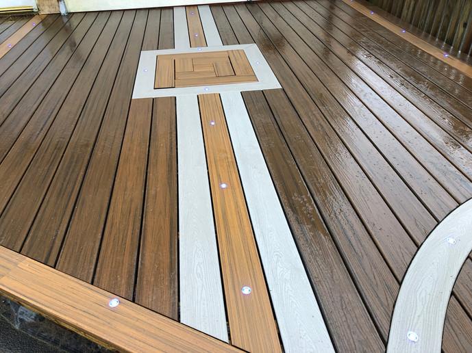 Trex Transcend Spiced Rum composite deck