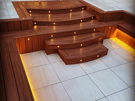 Lighting up your Trex Composite deck