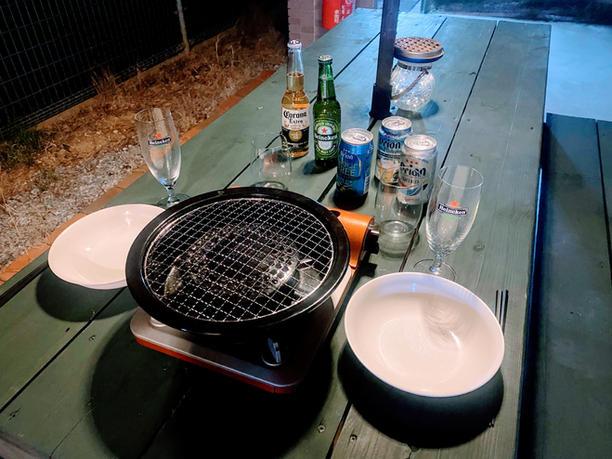 BBQ器材無料レンタル