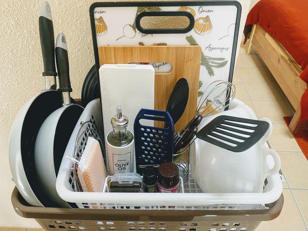 調理器具レンタル 1泊1000円(2泊以上無料)