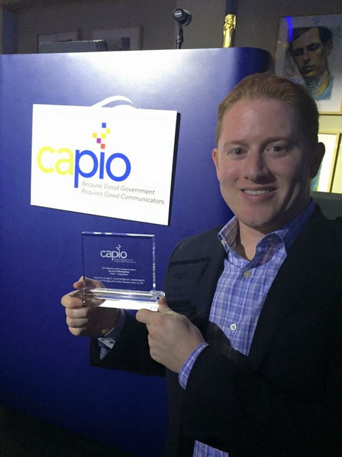 BRC wins Excellence in Communications award from the California Association of Public Information Officers (CAPIO).