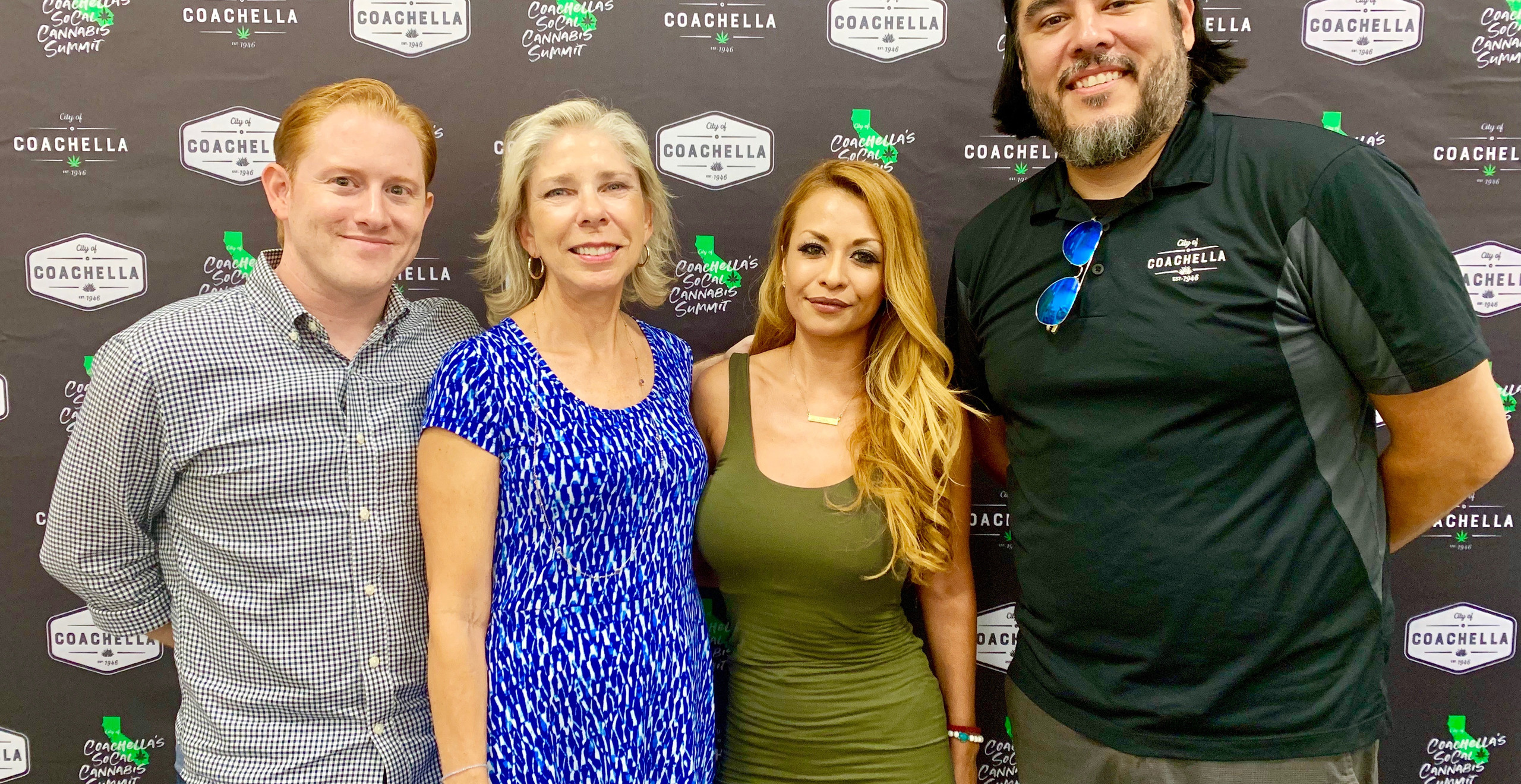 Josh Zipperman (BRC), Leisa Lukes (City of Cathedral City), Cynthia Orozco (BRC), Jacob Alvarez (City of Coachella)