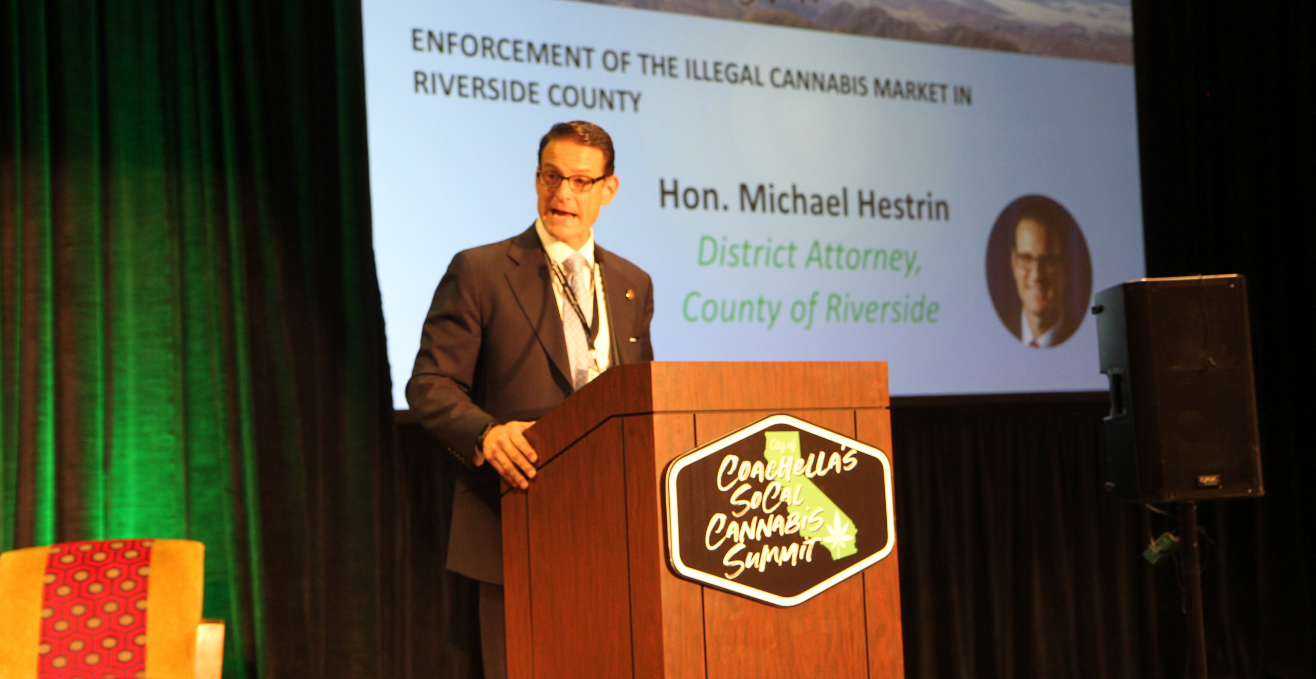 Riverside County District Attorney Michael Hestrin