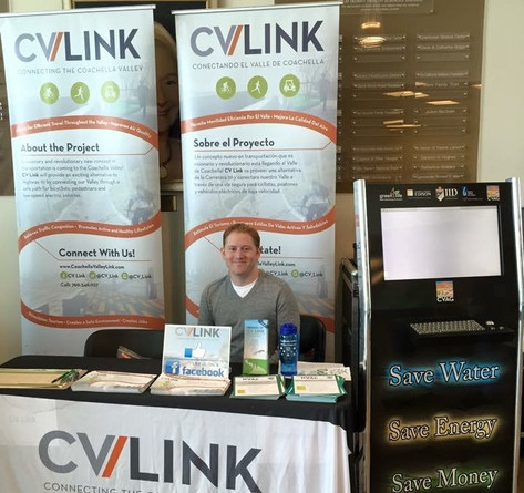 Ready to engage our local youth at the CV Link and Green for Life exhibit booths!