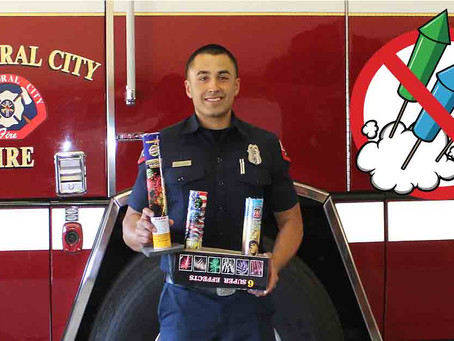 Catheral City Fire Department Launches Digital Public Safety Campaign For Illegal Fireworks