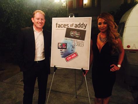 Winning ADDY awards with BRC graphic designer  Cindy Orozco!