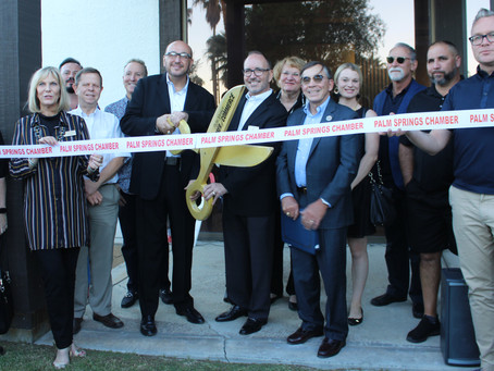 18|8 Fine Men's Salons Grand Opening in Palm Springs