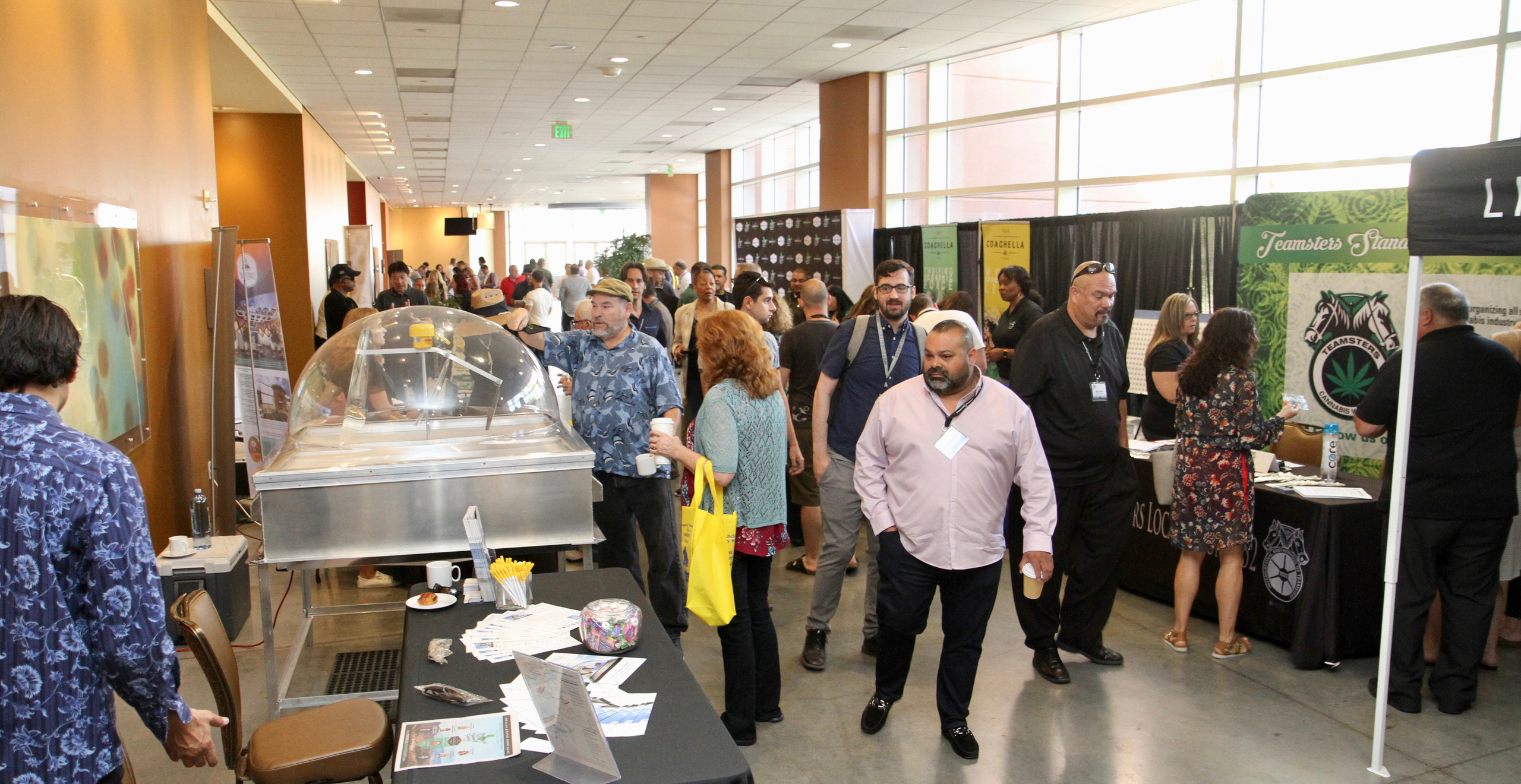 Summit Lobby with Exhibitors