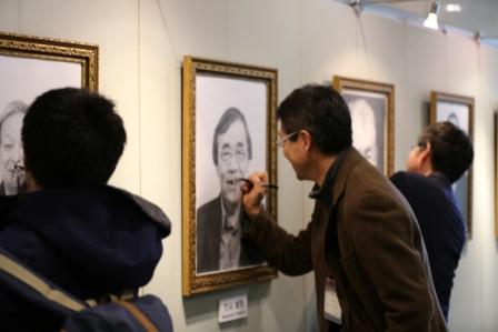 (3)幻の企画「大先生の顔でアートする」実現へ