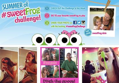 sweetFrog challenge