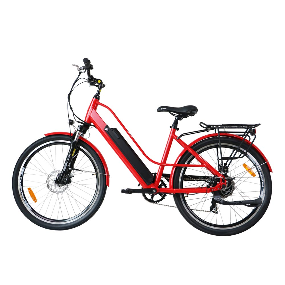 Commuter red 1
