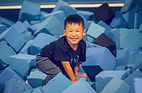FUN FRIDAY! 🎉 _Jump into the foam pit f