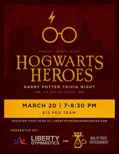 PLN 2020-03-20 Harry Potter Trivia Night