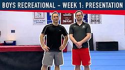 YouTube Cover 2020-03-29 Boys Rec - Week