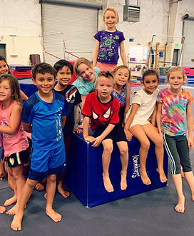Liberty Gymnastics Birthday Party
