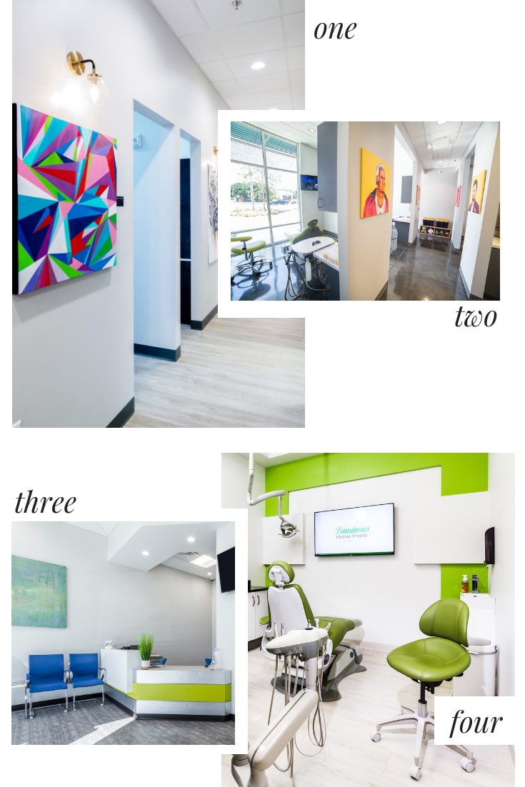 Dental Practice Design Trends | Bright White with Pops of Color | Xite Realty