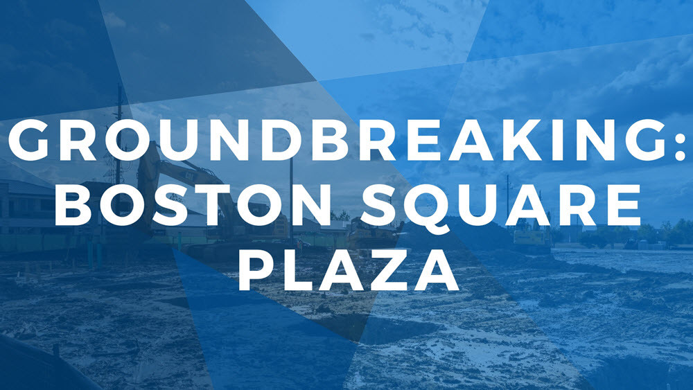 Groundbreaking ceremony on Gustafson Dental in Boston Square Plaza | Xite Realty
