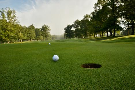 Golf course at Pipestem