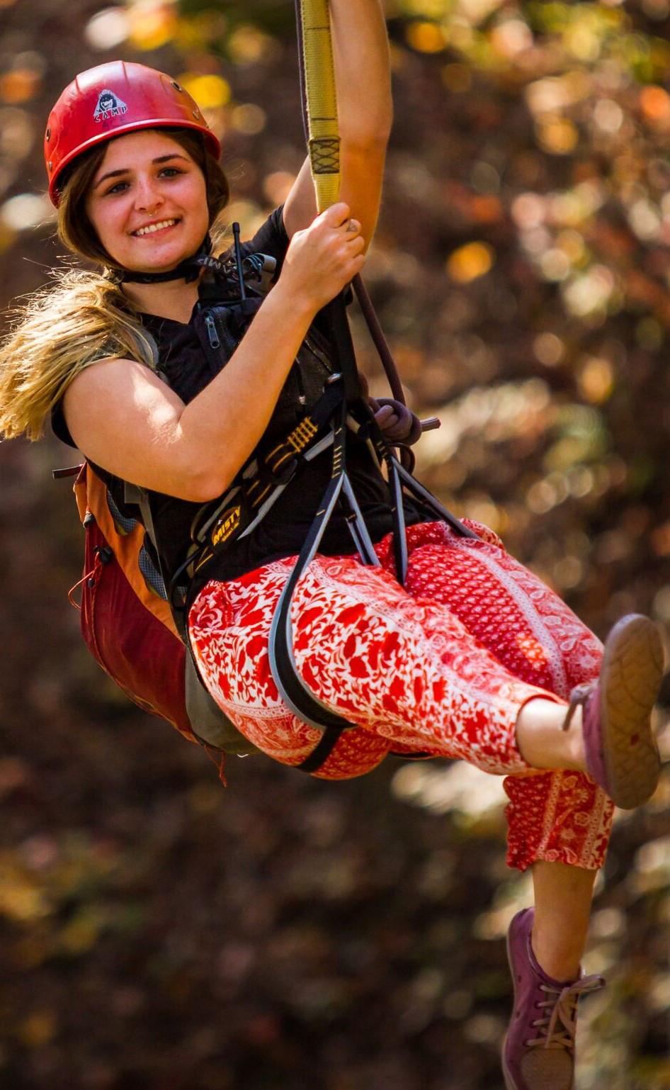 Zipline at Pipestem Resort State Park