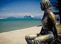 Estátua de Brigitte Bardot - Orla Bardot - Búzios